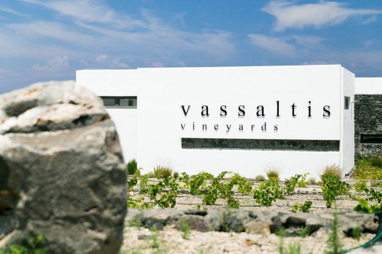 Vassaltis Vineyards, Santorin
