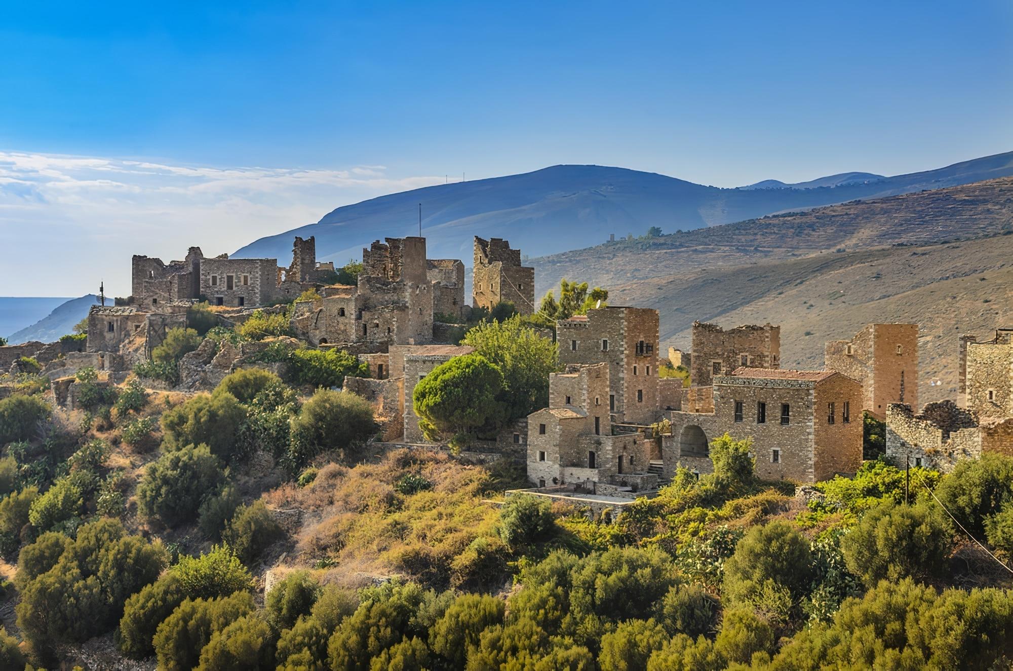 Villages du Péloponnèse : Vàthia