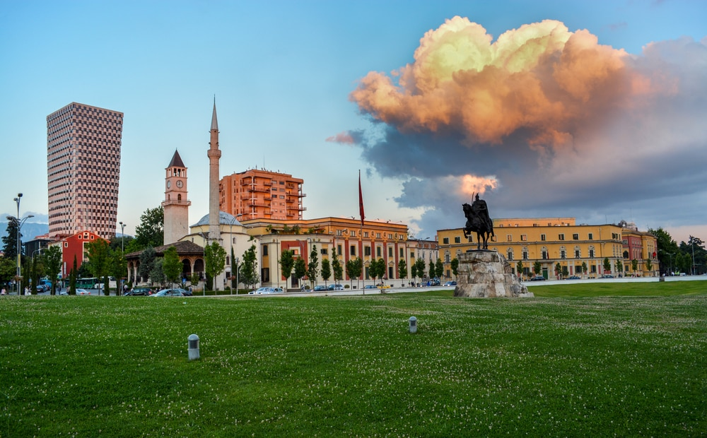 Place Skanderberg, Tirana