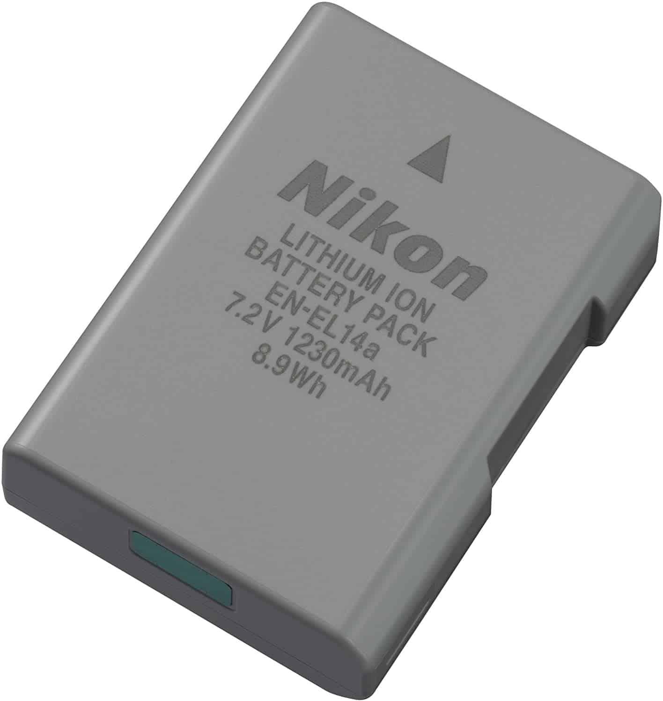 Une batterie rechargeable Nikon