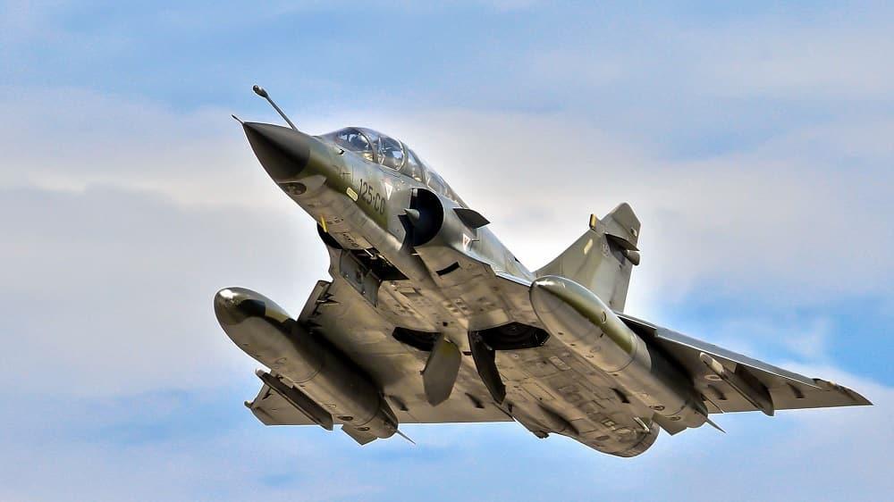 Un vol avion de chasse