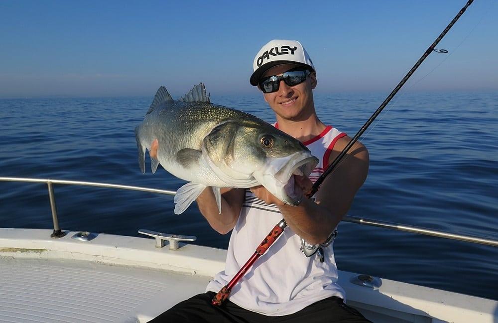 Une session de pêche au gros