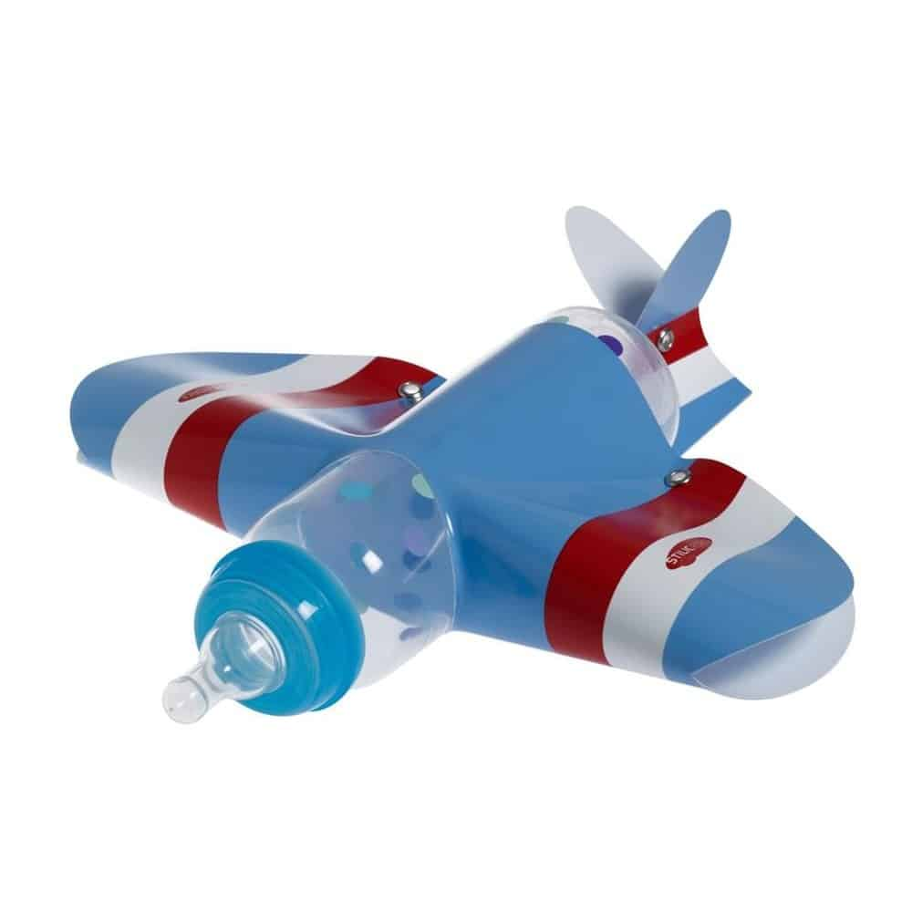 Un biberon en forme d'avion