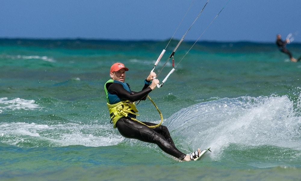 Un stage de kitesurf