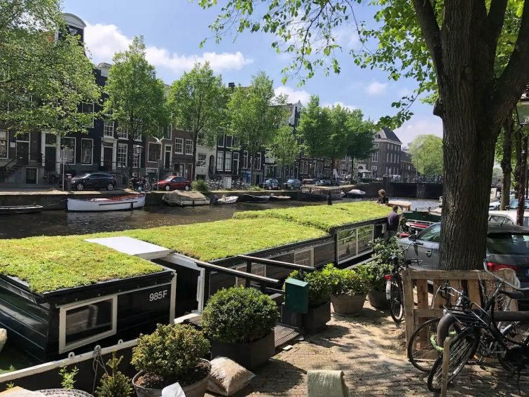 Houseboat Trijntje, Prinsengracht, Amsterdam,
