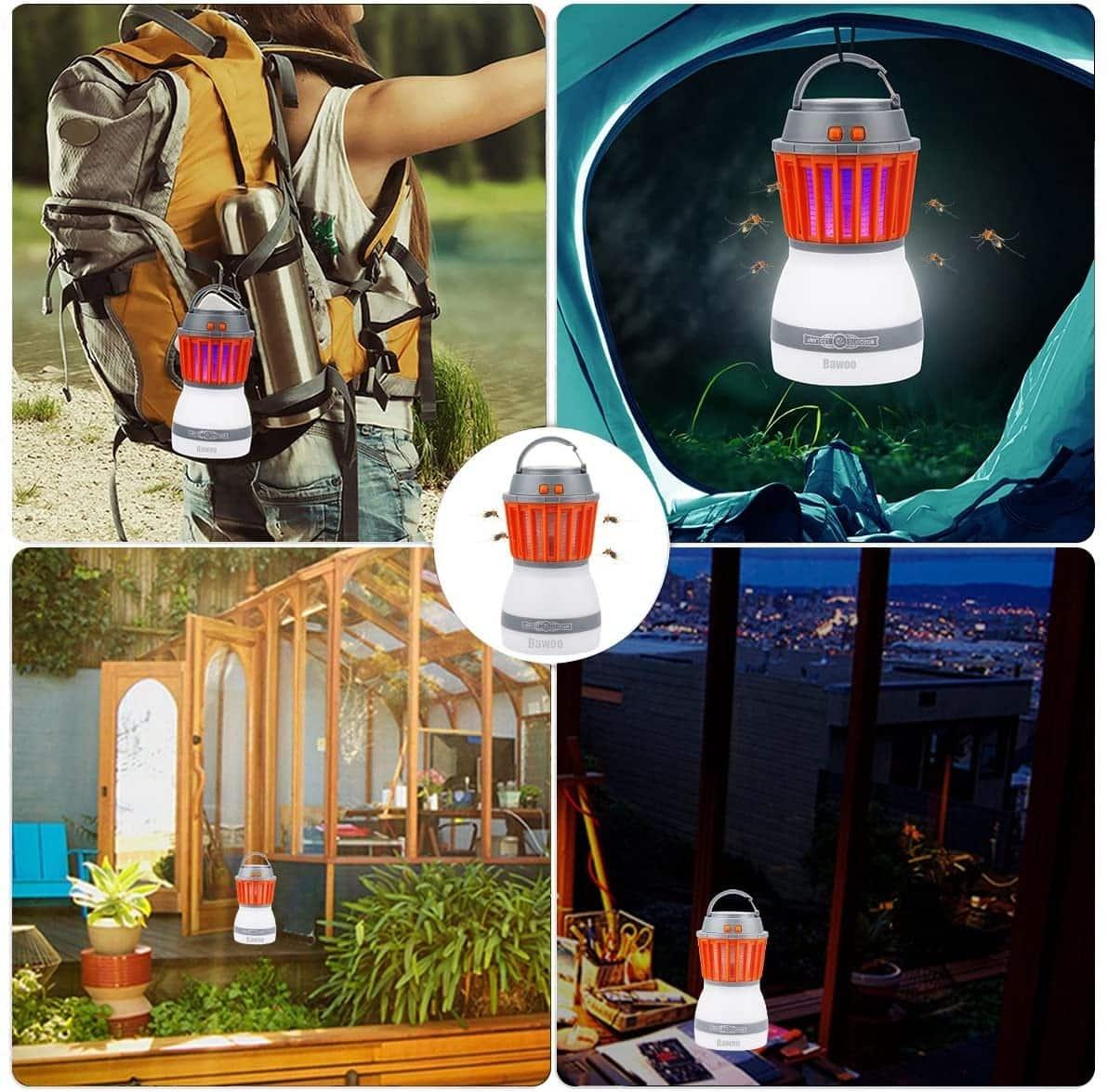 Une lampe anti moustique