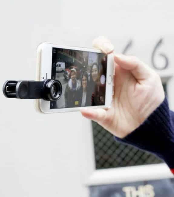 Un kit d'objectifs photo pour smartphone