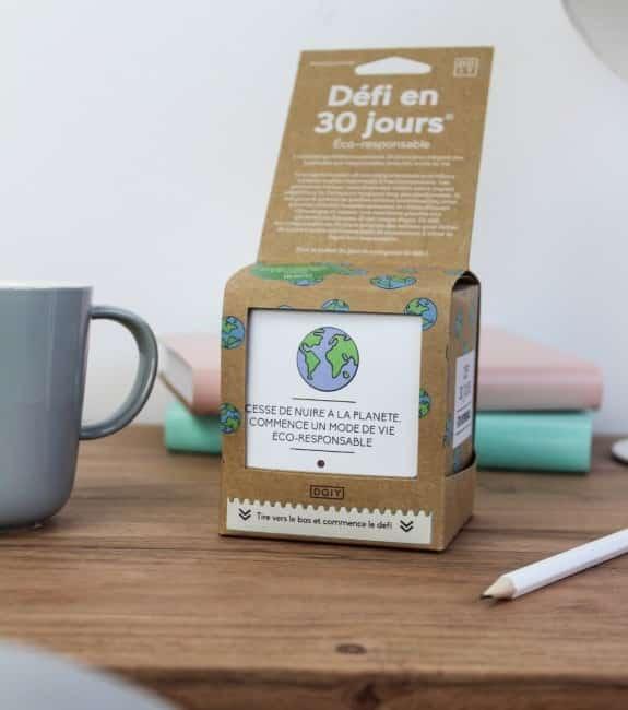 1 défi éco-responsable quotidien pendant 30 jours