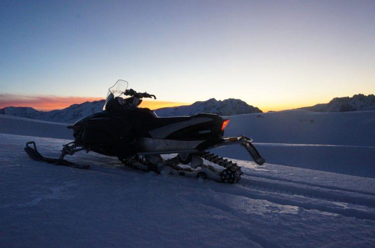 Motoneige Alpe d'Huez