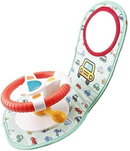 Un jouet pour siège auto pour nouveau-né