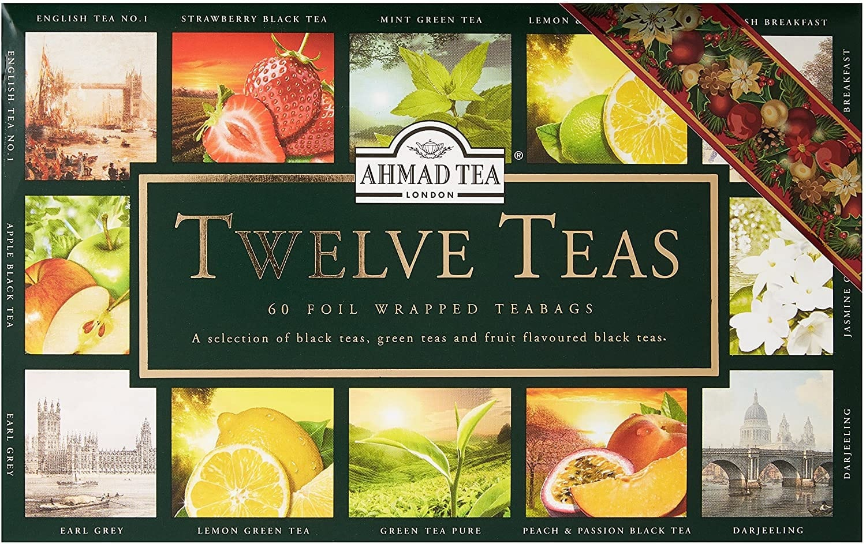 Un kit de 12 thés