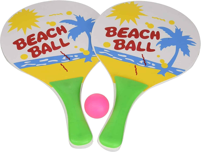 Des raquettes de plage