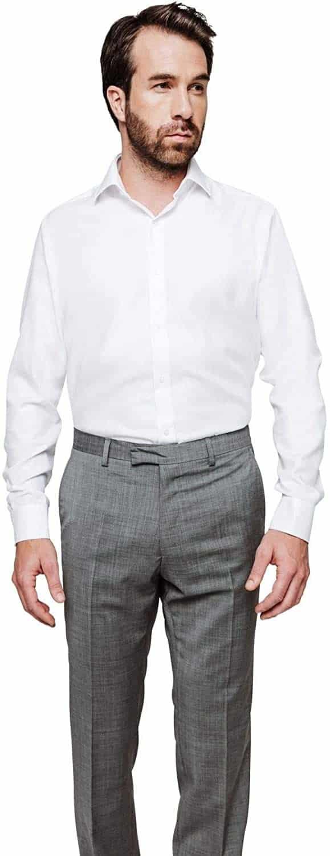 Une chemise infroissable