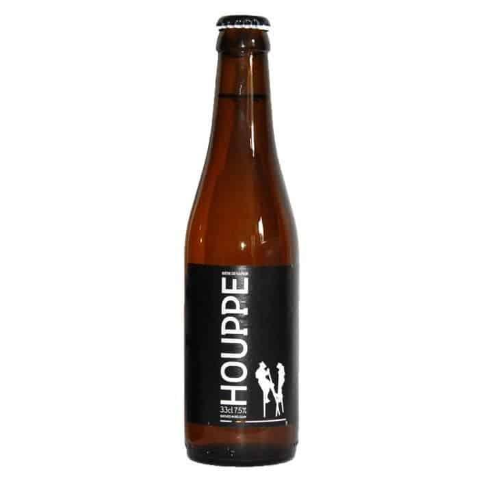 Bière La Houppe, de la Brasserie de Namur