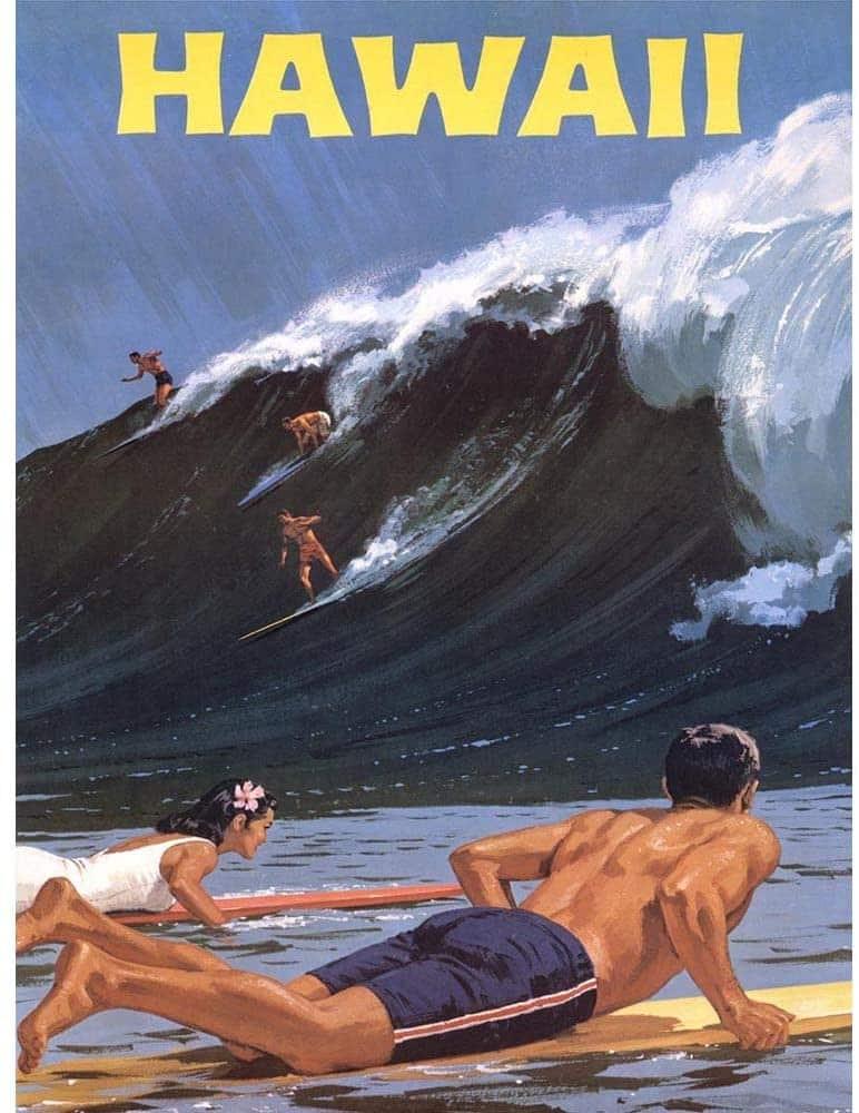 Un poster Hawaii