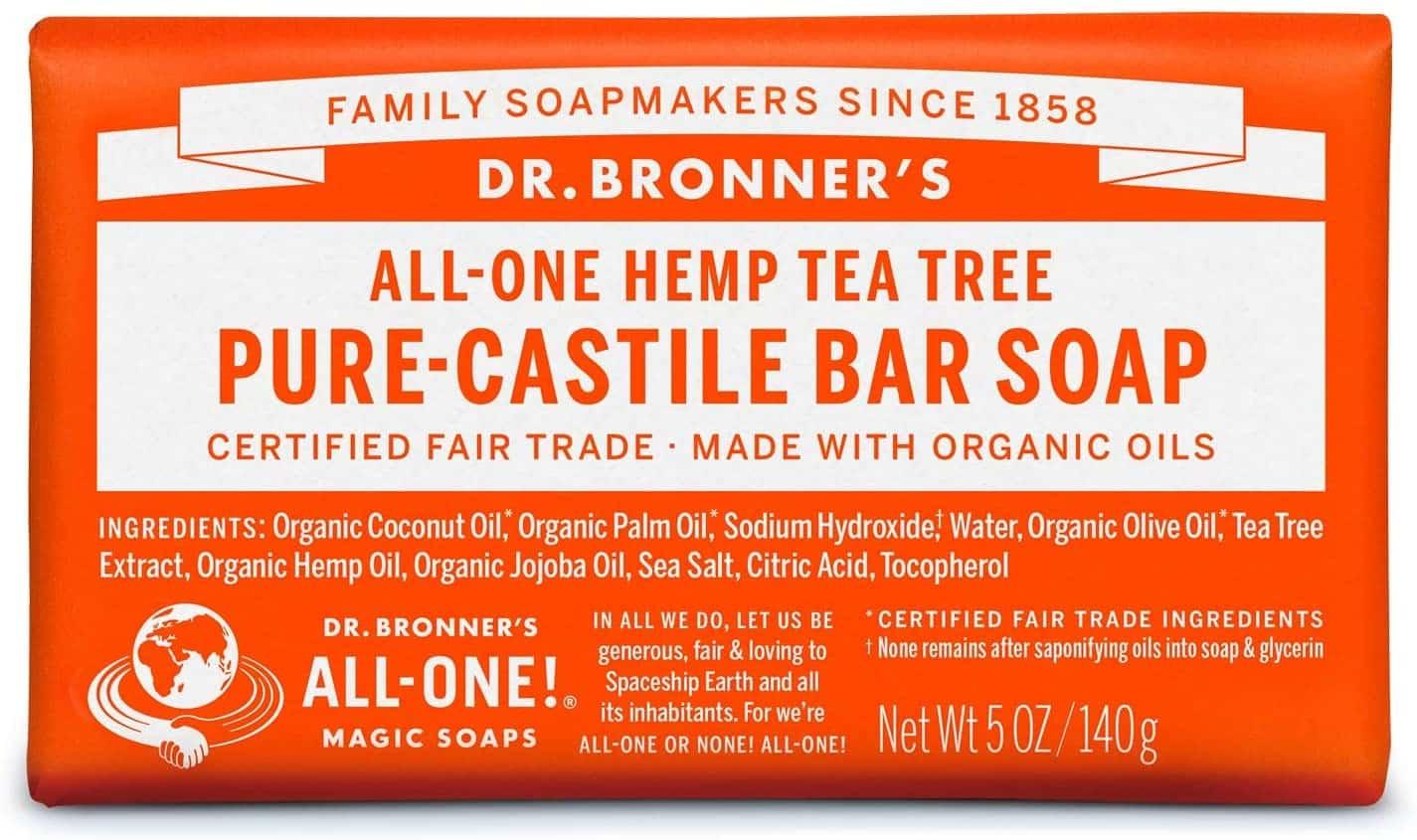Un savon magique de Dr Bronner's