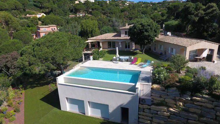 Maison résidentielle dans écrin de verdure- Airbnb Sainte-Maxime