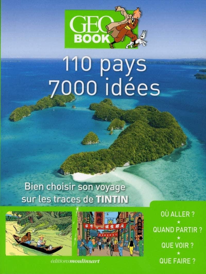 Geobook Sur les traces de Tintin