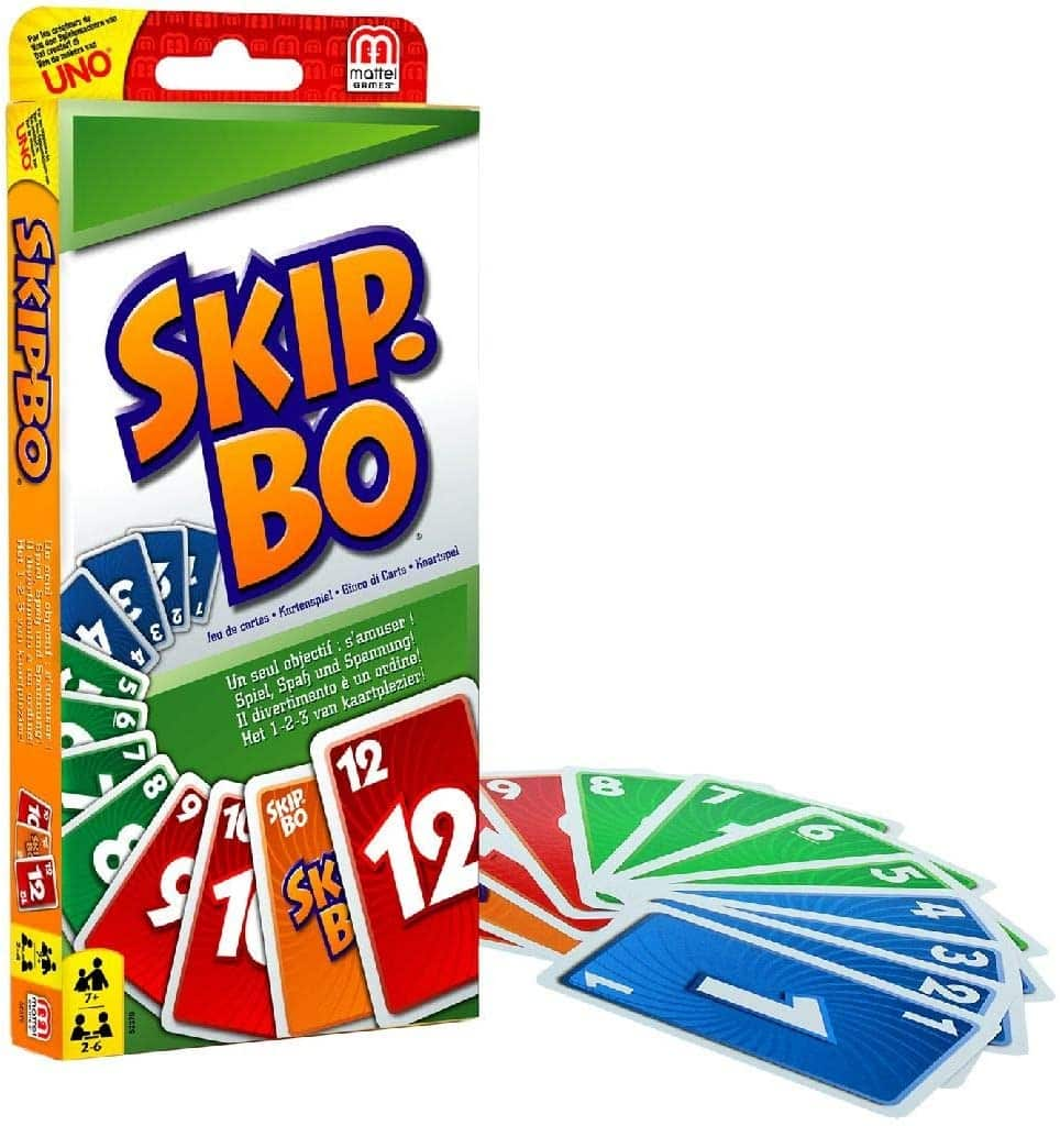 Le jeu Skip-bo, version voyage
