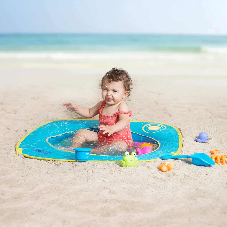 Un piscine de plage
