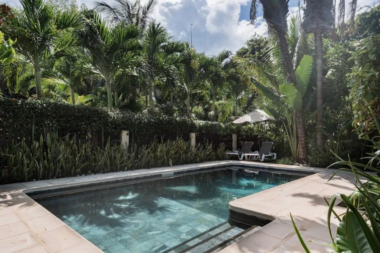 Stroll to the Beach From a Tranquil Villa With Lush Gardens