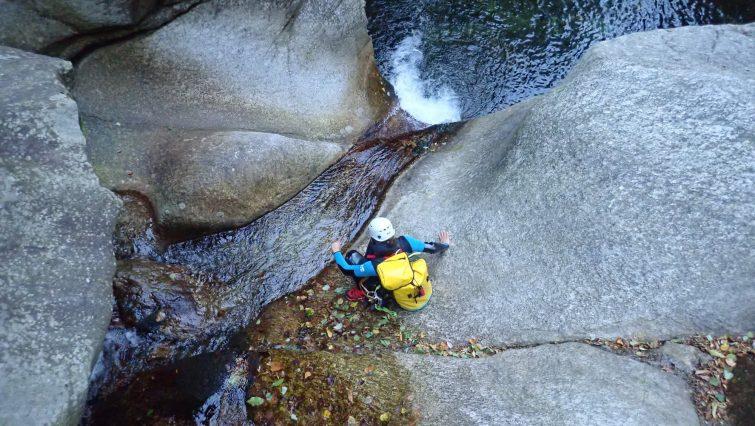 Canyon d'Orino - canyoning crète