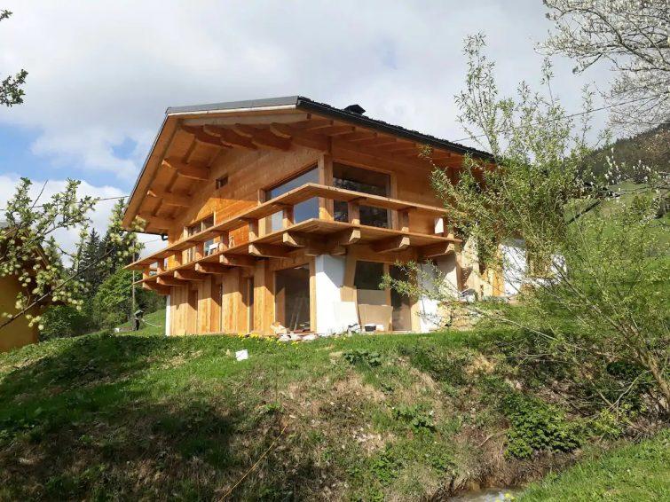 Chalet d'architecte - Vue Mont Blanc