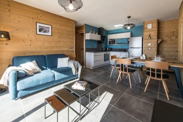 Appartement moderne et chaleureux sur les pistes