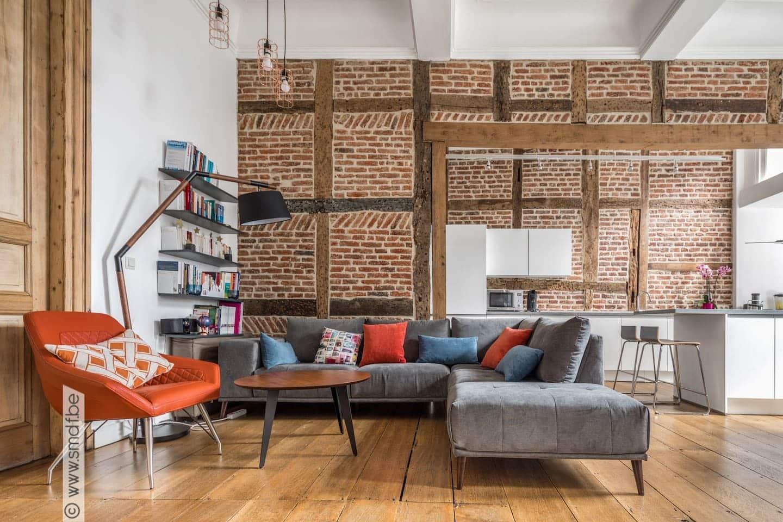 Appartement typique au centre de Liège