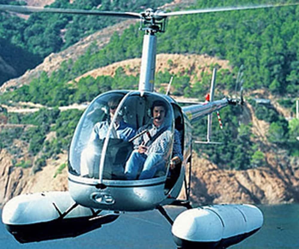 Un stage de pilotage d'un hélicoptère