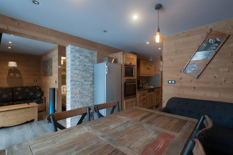 Appartement BELLEVILLE 4 flocons or️️️️ wifi