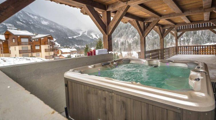 Chalet luxueux pour 16 personnes, spa et sauna