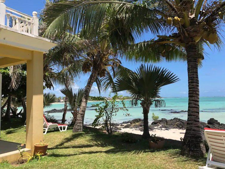 Emeraude beach front ocean view villa