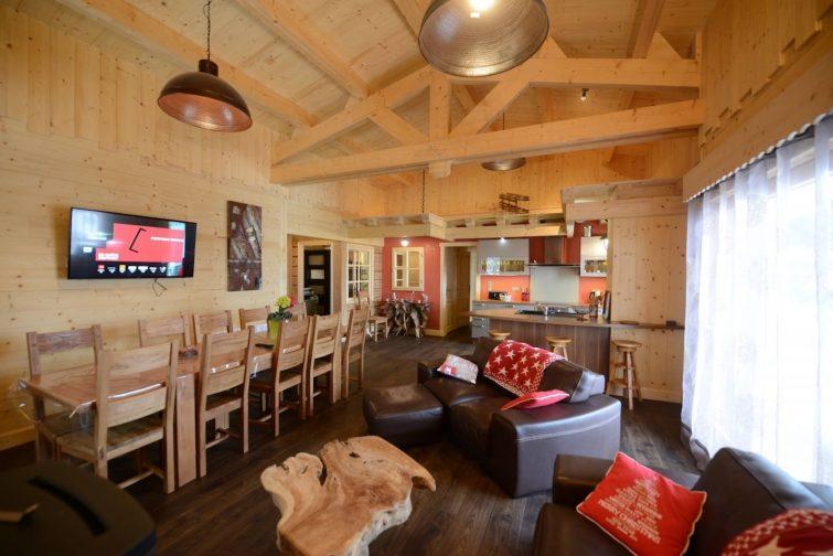 Magnifique chalet neuf,spa avec larges terrasses - Airbnb Lioran