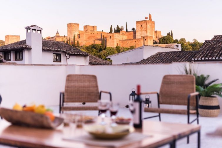 Admire Alhambra from your bed at a Fab Design Loft