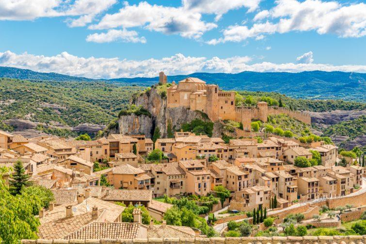 Alquezar-village
