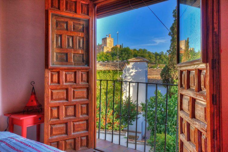 Breathtaking Alhambra View balconies, Albayzin
