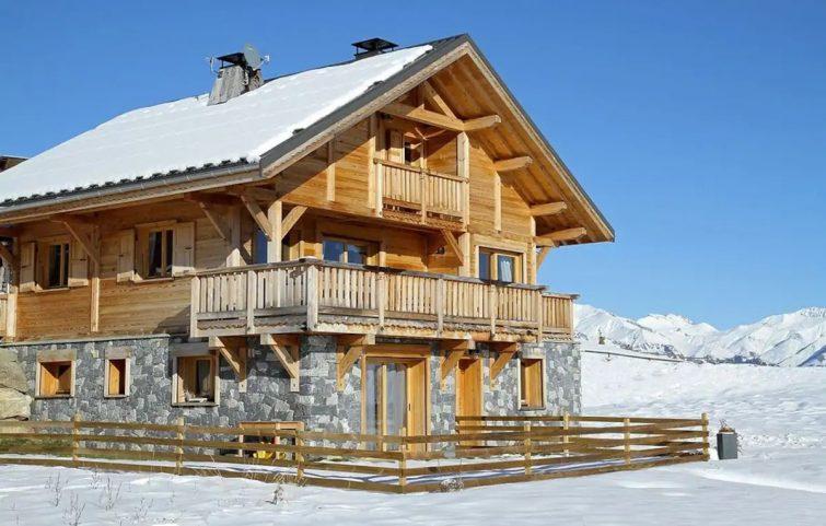 Chalet de Ski à Seulement 700m des Pistes   Sauna Privé