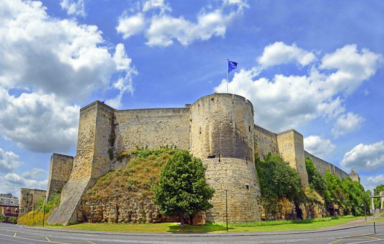 Château de Caen - châteaux à visiter en Normandie
