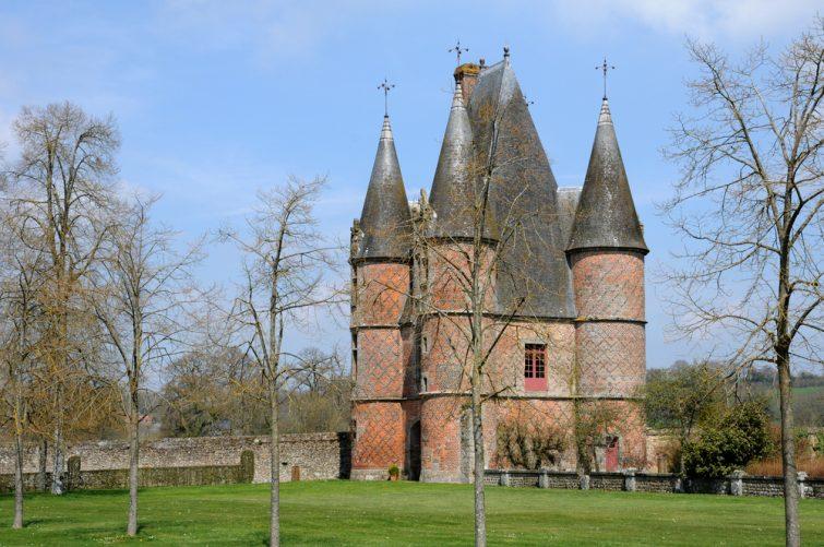 châteaux à visiter en Normandie - Château de Carrouges