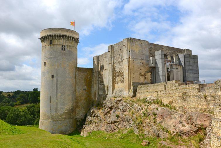 Château de Falaise - châteaux à visiter en Normandie