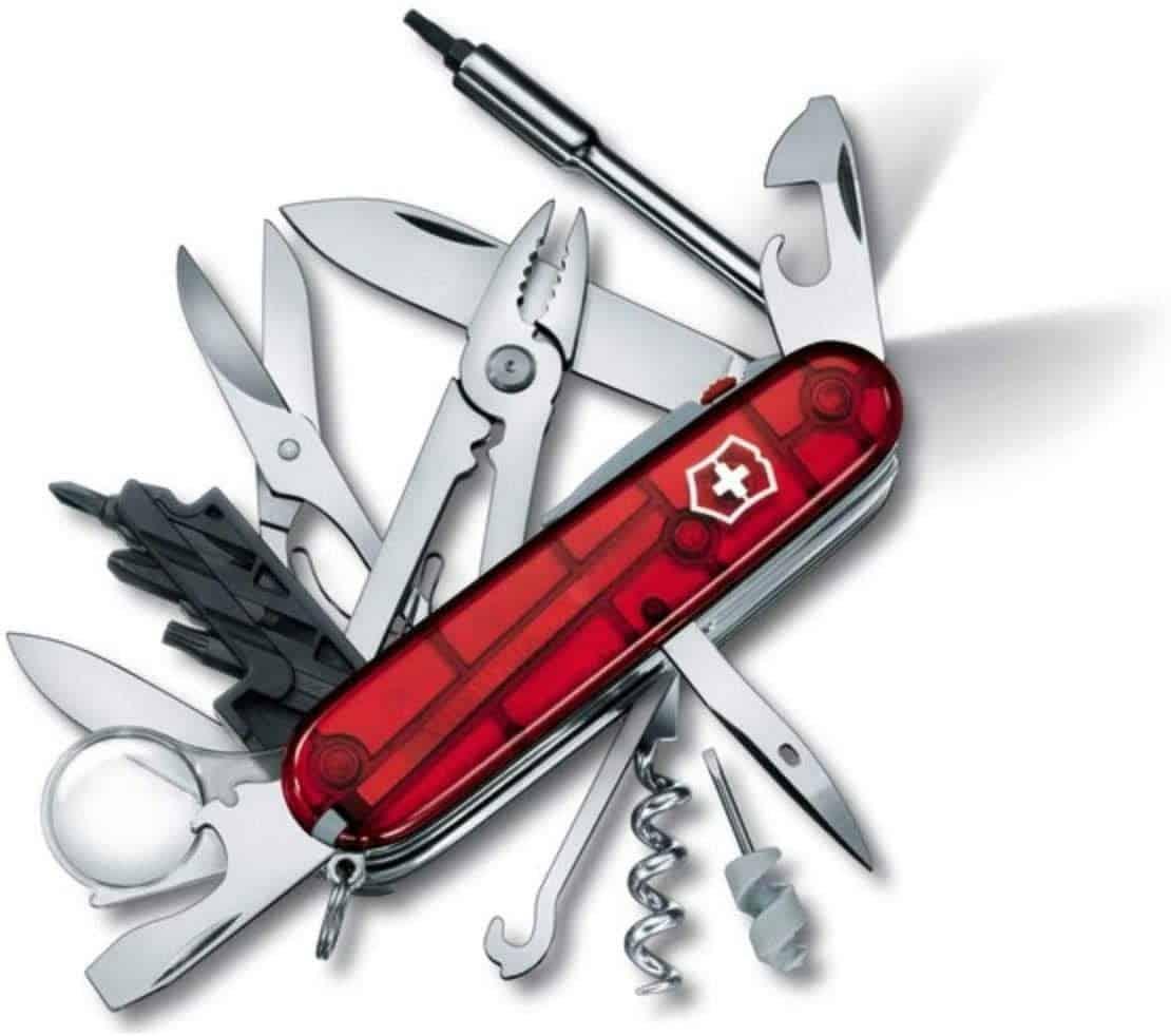 L'immuable couteau suisse