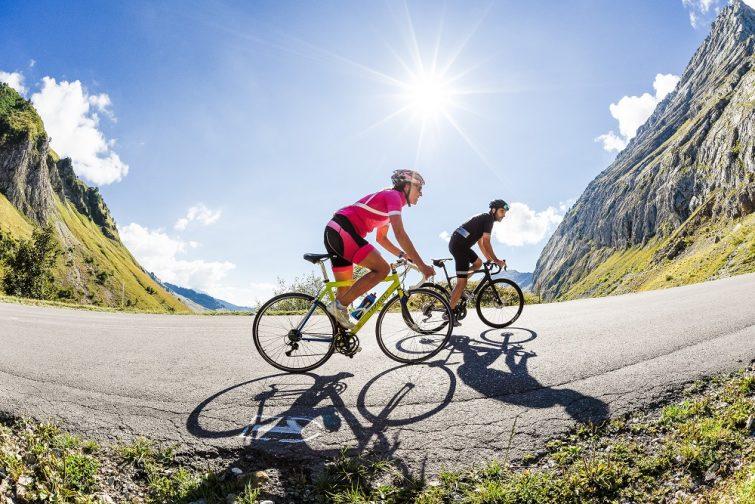 Cyclo au Grand-Bornand