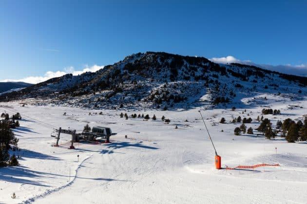 Cartes et plans détaillés de la station de ski de Font Romeu