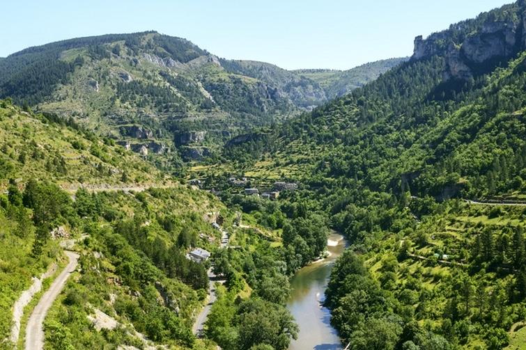 visiter Sainte-Énimie - Gorges du Tarn Sainte Enimie