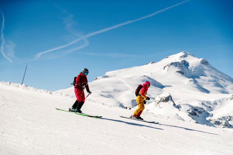 activité tignes ski