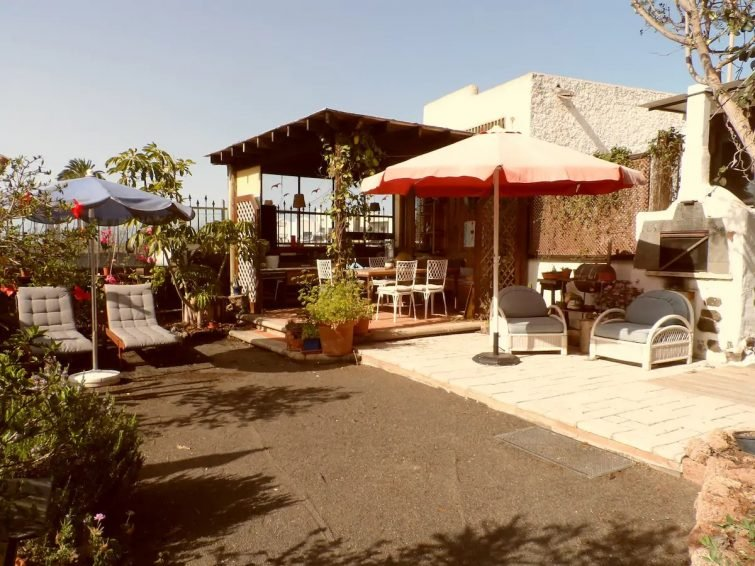 Studio avec immense jardin Lanzarote