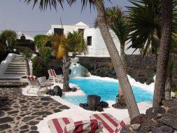 Le lagon de Lanzarote