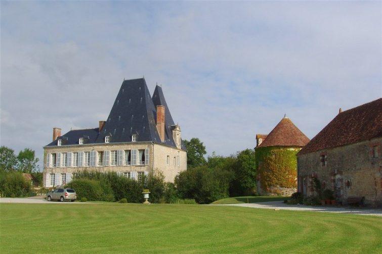 châteaux à visiter en Normandie - Le Château de Villiers