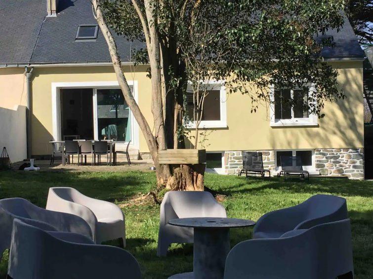 Maison bord de mer airbnb île de Groix
